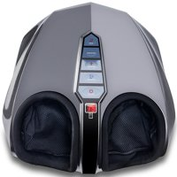 Miko Shiatsu Foot Massager Kneading/Rolling With Switchable Heat And Pressure Settings - Includes 2 Remotes (New Version)