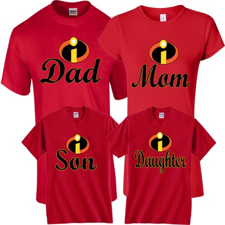 Halloween Matching Christmas Funny Cute T-Shirts Incredible Family MOM DAD KIDS GoCustom](Tomorrow Is Halloween Funny)