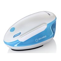 Reliable OVO 2 in 1 Travel Iron & Steamer, White and Blue, 150GT