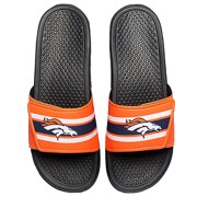 54c02eef3 Denver Broncos Men s Legacy Shower Sport Slide Flip Flop Sandals