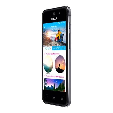 BLU VIVO 5 Mini V050QBLACK Smartphone - 3G GSM 850/1700/1900/2100 (Refurbished)