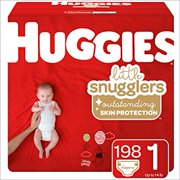 Huggies Little Snugglers Diapers Size 1 -198 ct.
