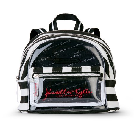 Kendall + Kylie for Walmart Clear Lucite Mini Backpack