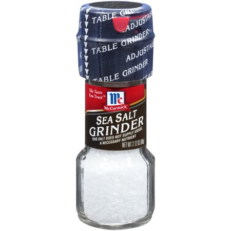 McCormick Sea Salt, 2.12 oz Table (Marble Salt)