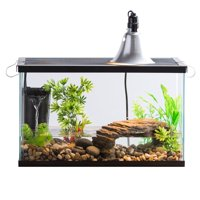 Aqua Culture 10-Gallon Turtle & Aquatic Reptile Habitat Starter Kit