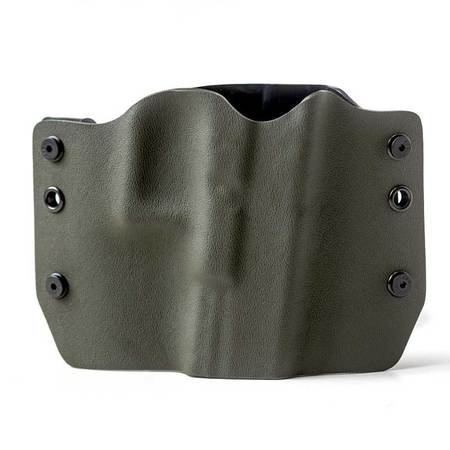 Outlaw Holsters: OD Green OWB Kydex Gun Holster for Walther P22, Right