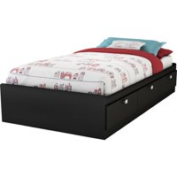 Spark Twin Storage Bed (39'') with 3 Drawers, Multiple Finishes