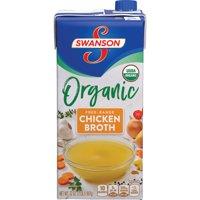 (2 Cartons) SwansonOrganic Free-Range Chicken Broth, 32 oz