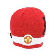 254672f53c6 Manchester United Futbol Soccer Beanie Cap- Red