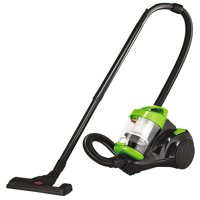 BISSELL Zing Lightweight Black and Green Bagless Canister Vacuum 2156A