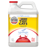 Purina Tidy Cats LightWeight 24/7 Performance for Multiple Cats Clumping Dust Free Cat Litter - 8.5 lb. Jug