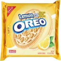 (2 Pack) Oreo Cookies, Lemon Crème, 15.25 Oz