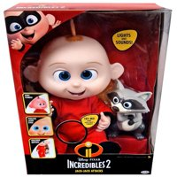 Incredibles 2 jack jack attacks feature action doll with lights and sound includes raccoon toy