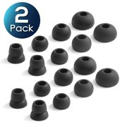 2379b8c5511 2 Pack 8 Pieces Replacement Earbud Tips by Insten 4-Pair Replacement Ear  Gels Caps