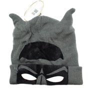 e75aa46047a DC Comic s Batman Mask Eyes and Ears Gray Character Beanie