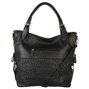 Diophy Bubble Surface Double Side Zippers Hobo Handbag 8f1949c86d