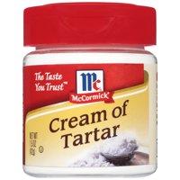 (2 Pack) McCormick Cream Of Tartar, 1.5 oz