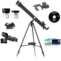 Galileo SS-760 700mm x 60mm Astronomical and Terrestrial Refractor Telescope and Smartphone Photo Adapter