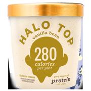 Halo Top Vanilla Bean Ice Cream, 1 pint