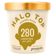 Halo Top Vanilla Bean Ice Cream, 1 pint