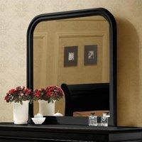 "Coaster Company Louis Philippe Collection Dresser Mirror, Black 38""x38"""