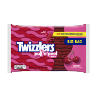 (2 Pack) Twizzlers, Cherry Pull 'n' Peel Licorice Chewy Candy, 28 Oz
