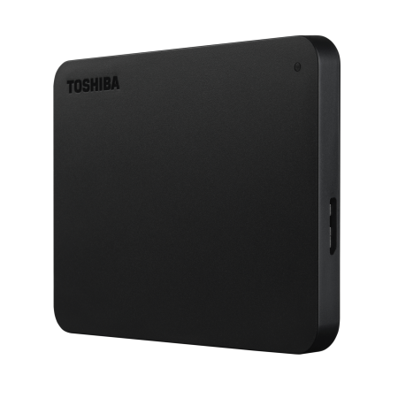 Toshiba Canvio Basics 1TB Portable External Hard Drive USB 3.0 Black - HDTB410XK3AA
