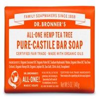 (3 pack) Dr. Bronner's Tea Tree Bar Soap