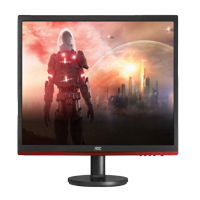 "AOC Monitor 22"" Class Full HD 1920x1080 Gaming Free-sync Anti-Blue 1ms 75Hz VGA HDMI DisplayPort G2260VWQ6"