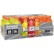 Gatorade Thirst Quencher, Variety Pack, 12 Fl Oz, 18 Ct