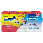 Nestle Nesquik Low-Fat Strawberry Milk, 8 Fl. Oz., 10 Count