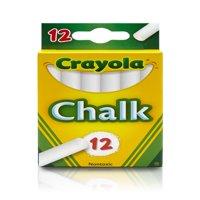 Crayola White Chalkboard Chalk, 12 count, School Supplies