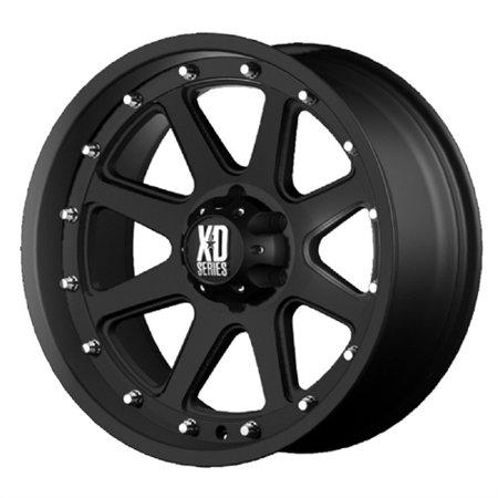 KMC-XD Wheels XD79879050712N XDWXD79879050712N KMC XD SERIES 17x9 798 ADDICT MATTE BLACK 5X5.0 bp 4.53 b/s -12 offset