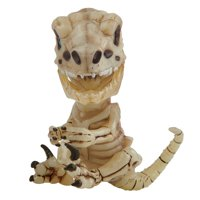 Fingerlings Untamed – Bonehead Skeleton Raptor – Gloom (Sand) – By WowWee