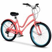 a6627fcac18 Hyper Commute Women's Comfort Bike, 26' Wheels, 7-Speed Shimano Twist  Shifters