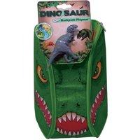 Neat-Oh! ZipBin Dinosaur Bring Along Backpack, Dark Green