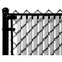 Gray 6ft Tube Slat for Chain Link Fence