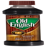 Old English Scratch Cover For Dark Woods, 8oz Bottle, Wood Polish