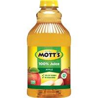 (2 pack) Mott's 100% Original Apple Juice, 64 fl oz