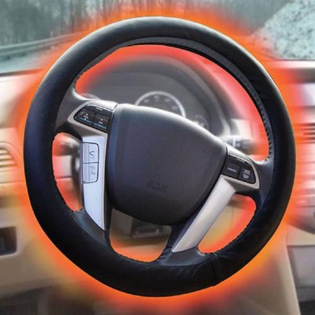 Sharper Image Heated Steering Wheel Cover Walmartcom