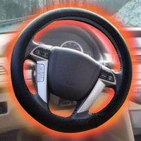 Sharper Image Heated Steering Wheel Cover