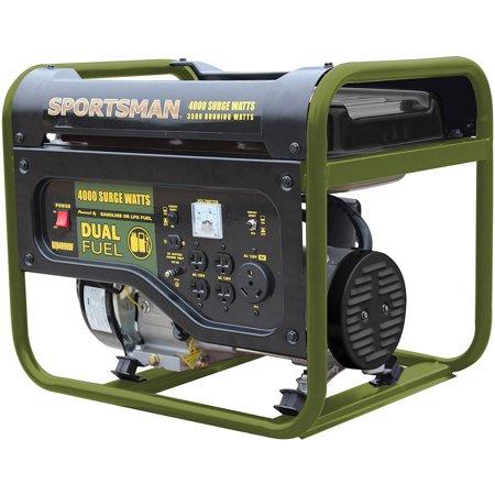 Sportsman 4000W Dual-Fuel Generator (Portable Generator Enclosure)
