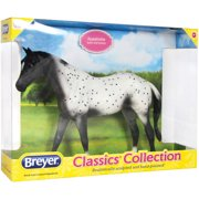 90a3858b8d Breyer Classics Black Semi-Leopard Appaloosa Horse Toy (1 12 Scale)