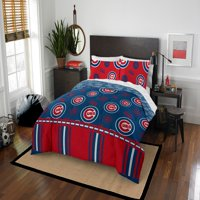 MLB Chicago Cubs Queen Bed In Bag Set
