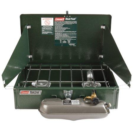 Guide Series Dual-Fuel Camping Stove 2 Burner ()