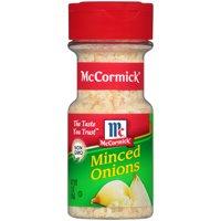 (2 Pack) McCormick Minced Onions, 2 oz