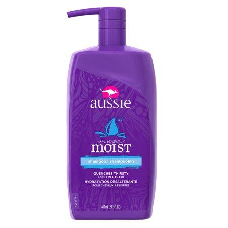 Aussie Mega Moist Shampoo 292 Fl Oz With Pump Walmartcom