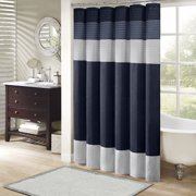 MP70 2206 Amherst Shower Curtain 72x72 Navy72x72 Set Includes