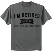 6af225ae13 Funny Retirement Gift Retired T-shirt Men's Graphic Tee