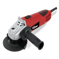 Hyper Tough 6.0-Amp Angle Grinder, Adjustable Guard, AQ15013G